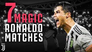 7 Moments of Cristiano Ronaldo Magic at Juventus Allianz Stadium