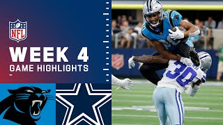 Panthers vs. Cowboys Week 4 Highlights   NFL 2021
