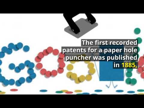 News24h | Hole Punch History | Hole Punch History Google Doodle