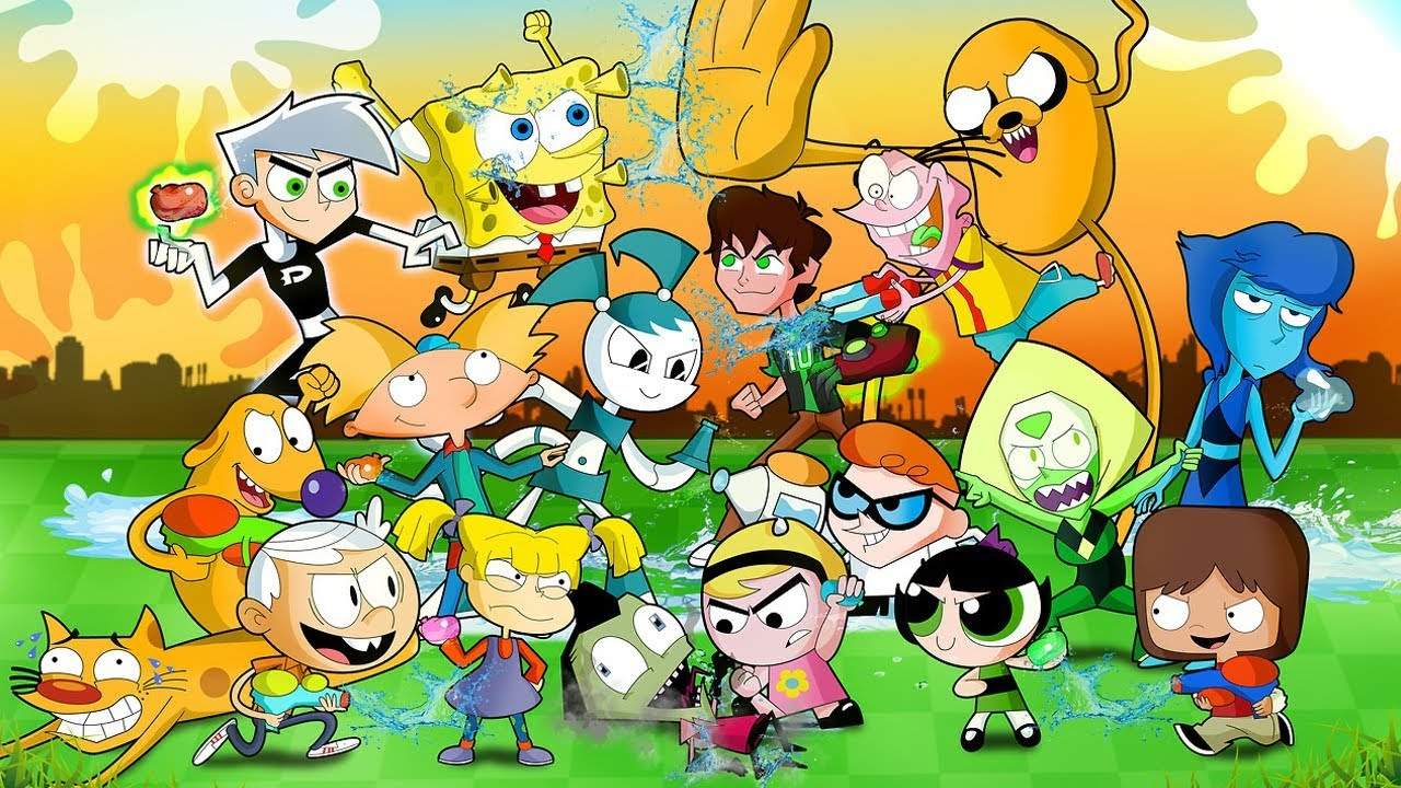 Image result for nickelodeon vs cartoon network