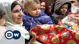 اللاجئون الاحتفال بعيد الميلاد في ألمانيا | الأخبار