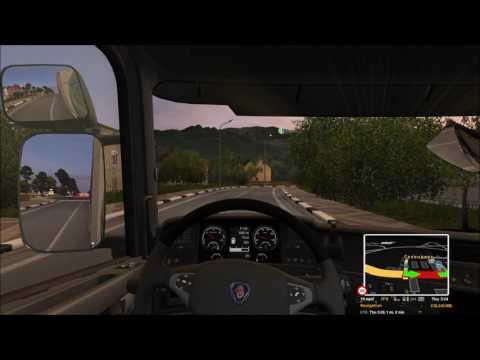 Euro Truck Simulator 2 - Constanta to Russia Via Ferry