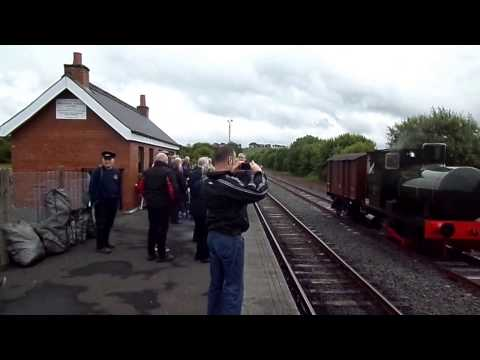 Andrew Barclay 0-4-0 Fireless Locomotive at Dunaskin, Ayrshire