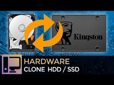 Como CLONAR WINDOWS De HD Para SSD 2018.