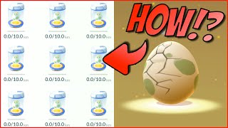Pokemon Go - ALL 10 KM EGG HATCH - ULTRA RARE EGG HATCHING - How to get 10 Km Eggs thumbnail