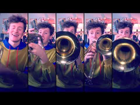 Beyond the Sea for Brass Quintet with sheet music