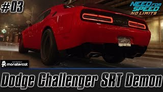 Need For Speed No Limits: Dodge Challenger SRT Demon | Unleashed (Chapter 3 - Daredevil)
