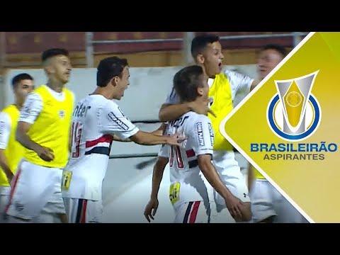 Melhores momentos - São Paulo 1 x 0 Cruzeiro - Campeonato Brasileiro de Aspirantes (16/11/2017)