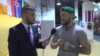 Interview with Conor McGregor: