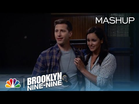 Brooklyn Nine-Nine - Jake and Amy's Love Story in 99 Seconds (Mashup)