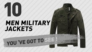 Men Military Jackets By WenVen // The Most Popular 2017