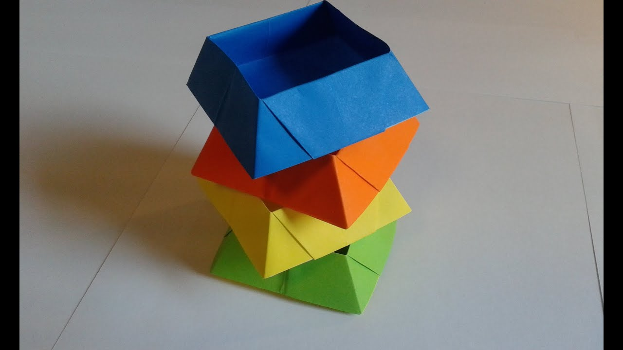 origami candy box youtube