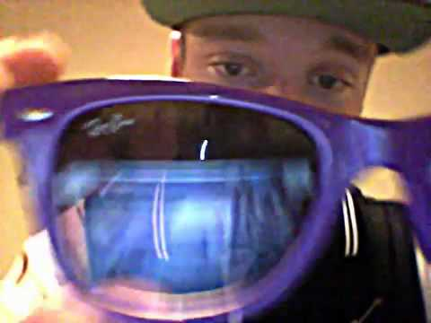 Purple Ray Ban Wayfarers Revie wwww.chinashopsell.com.mp4