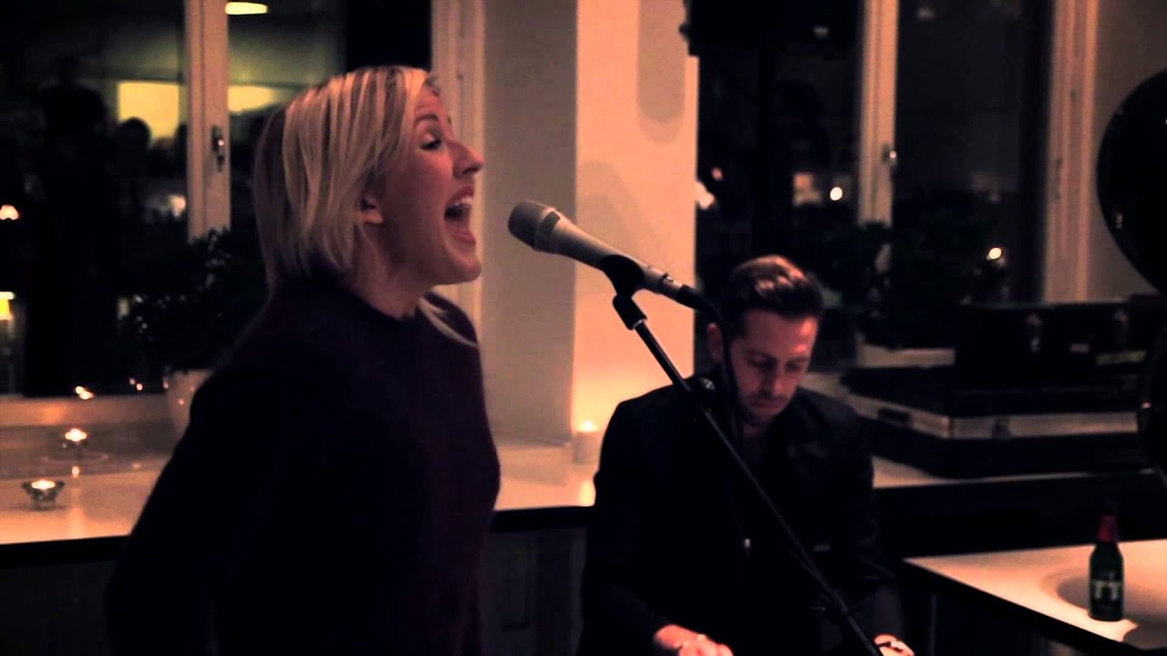 Ellie Goulding JOY Live KITCHEN SESSIONS YouTube - Singer kitchen equipment