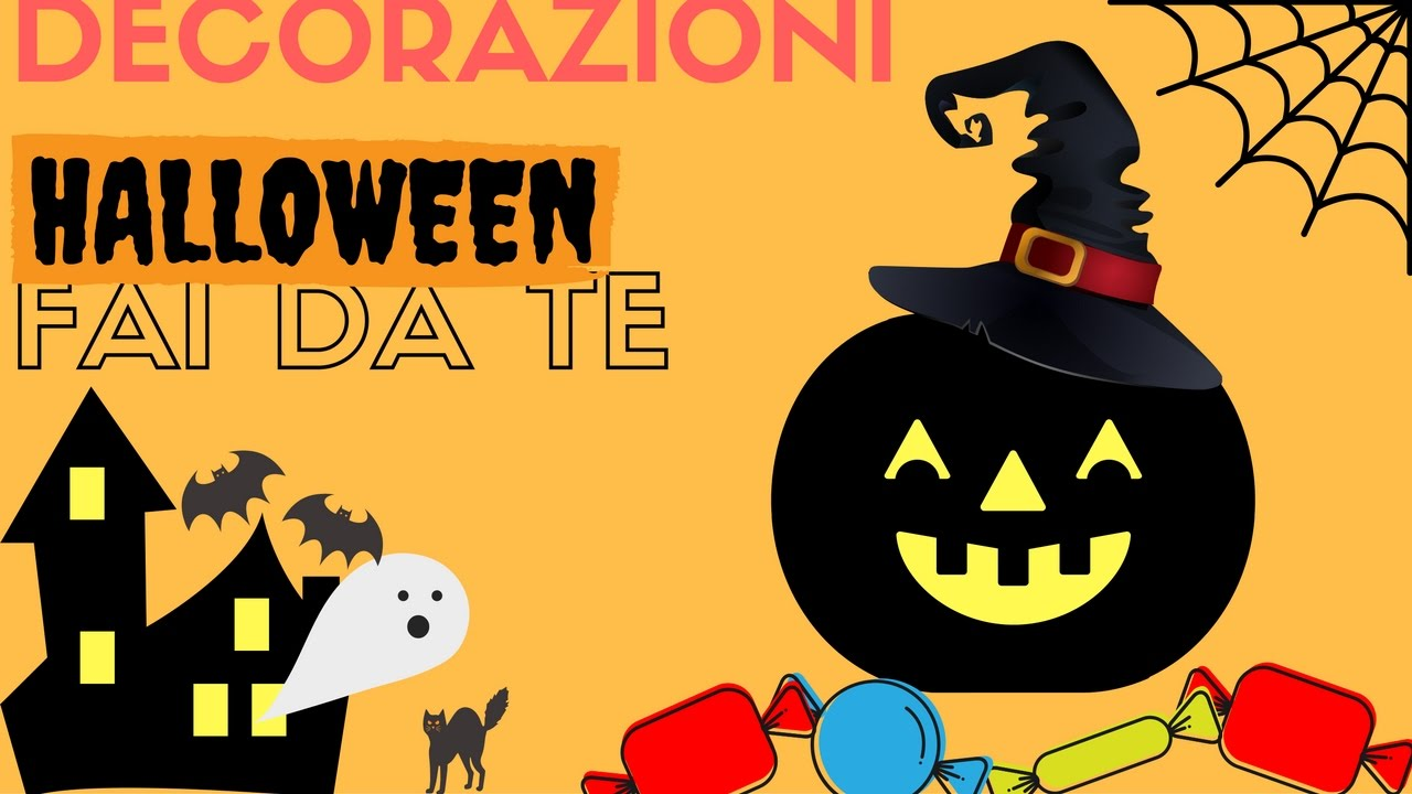 tutorial decorazioni halloween fai da te diy halloween