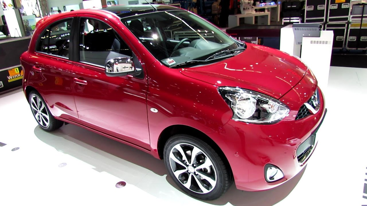 2014 nissan micra exterior and interior walkaround 2013 frankfurt motor show youtube. Black Bedroom Furniture Sets. Home Design Ideas