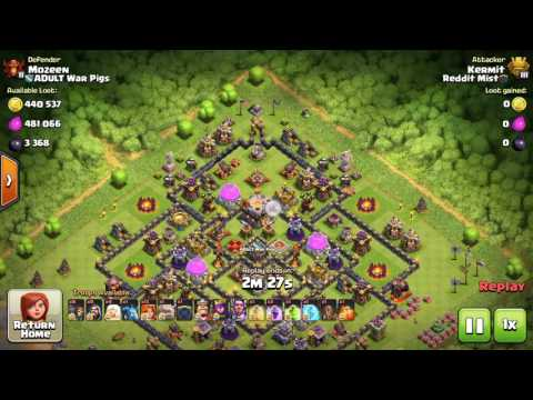 Clash of Clans   Great TH11 Farming Base for Champion League!