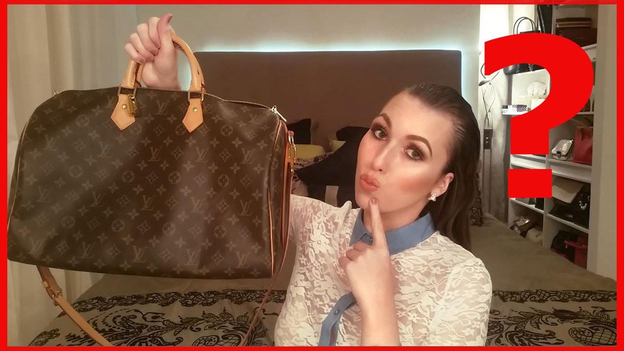 915d8d4c291 What s In My Louis Vuitton Speedy 40 Bandouliere