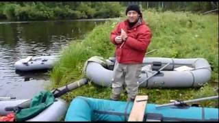 Видео о рыбалке на тайменя. Сплав река Сарчиха. Часть 2(В августе 2010 года Новосибирский клуб рыболовных путешествий