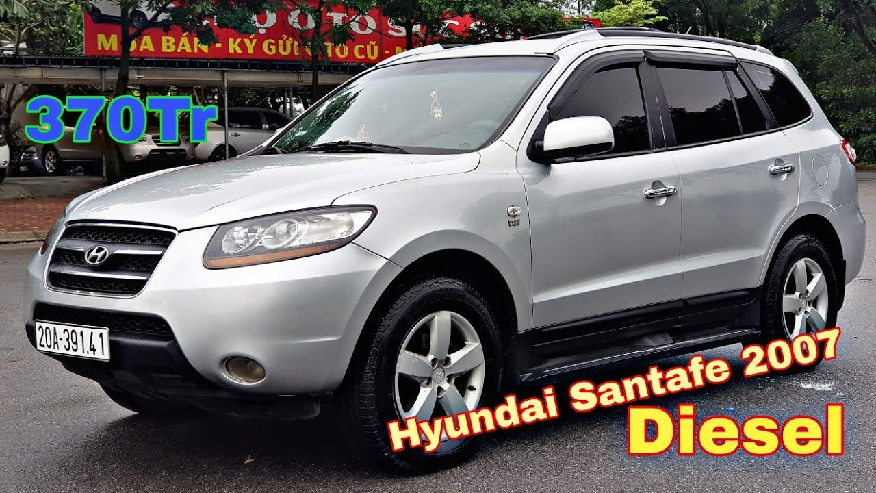 Hyundai Santafe 2007 CLX - máy dầu, số tự động | Chợ ô tô Nội Bài - 0966680444