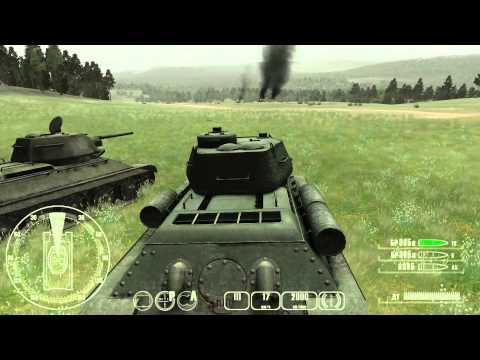 Поиграем с Холи в T-34 против Тигра - №11 - Т-34 - Встречный бой