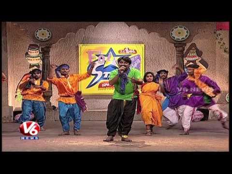 Thangedu Chetla Kinda Song | Telangana Folk Songs | Dhoom Thadaka | HD | V6News