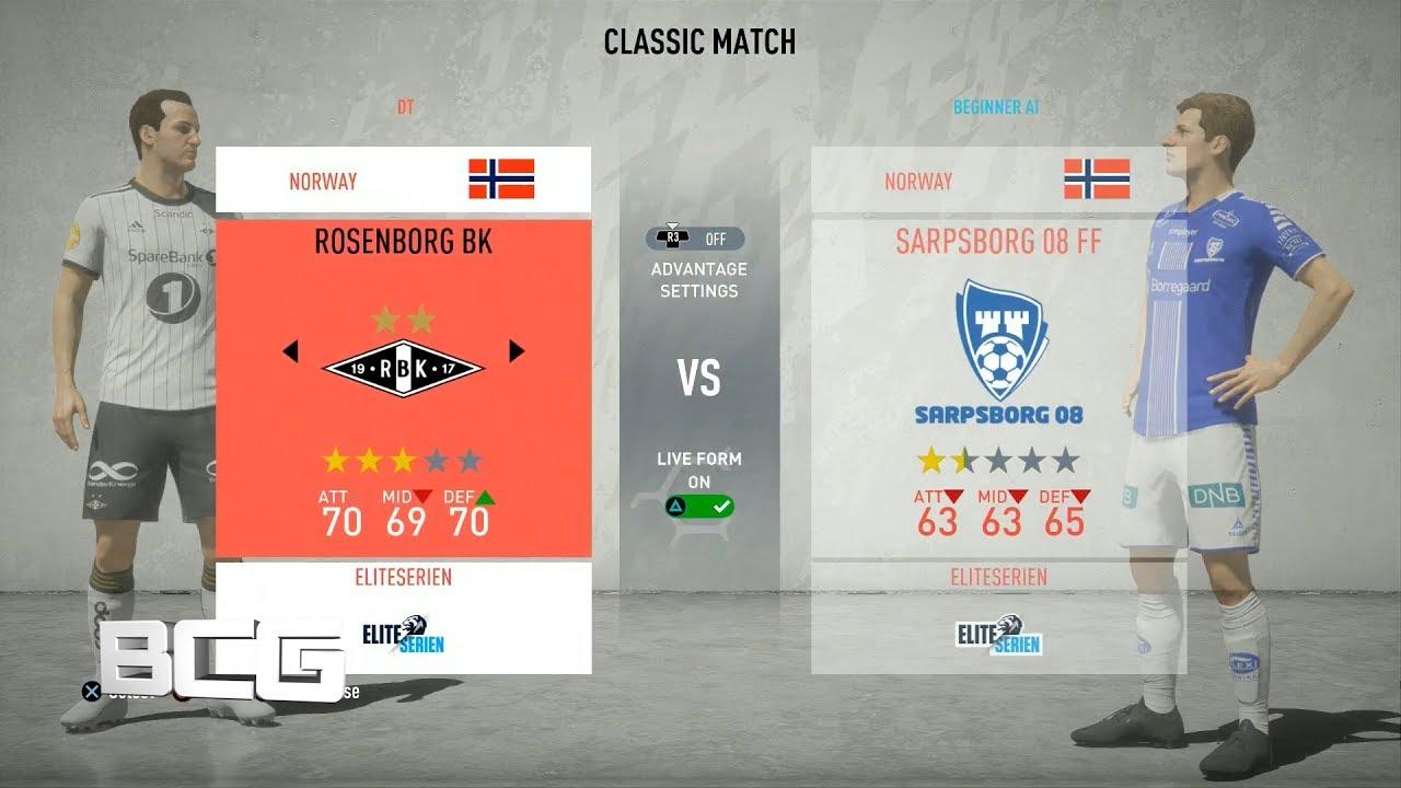 Fifa 20 Norwegian Eliteserien Ratings Kits Youtube