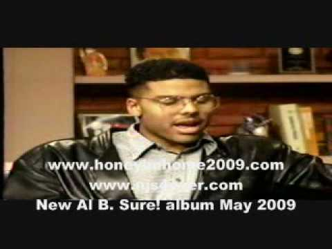 Al B. Sure! interview - 1988 (presented by Njs4ever.com)
