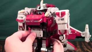 GoGo Sentai Boukenger SirenBuilder Review (Power Rangers Operation Overdrive Flashpoint Megazord)