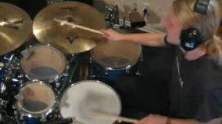 Drum Lesson: Funky Ride Cymbal Pattern