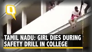 Fire Drill Turns Fatal: TN College Girl Falls Off 2nd Floor, Dies I The Quint