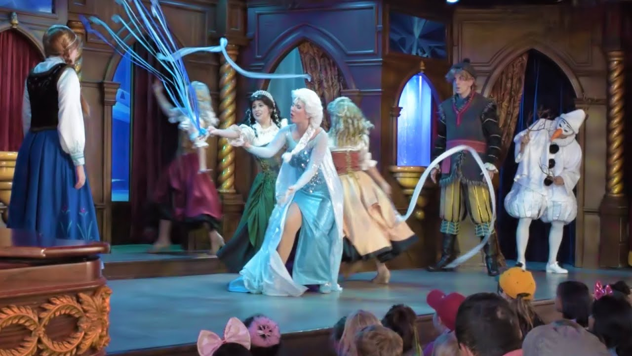 Frozen At The Royal Theatre Full Live Show At Fantasy