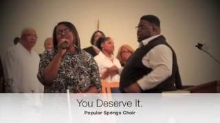 JJ Hairston, Youthful Praise - You Deserve It