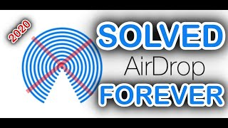 AIRDROP Problem SOLVED Foręver 100% | Easy Fix for Airdrop issues | Mac to iPhone/iPad | [2020]