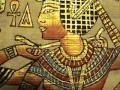 Tutankhamun And His Beautiful Wife Ankhesenamun Papyrus