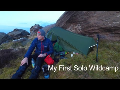 First Solo Wild Camp To Christianbury Crags...
