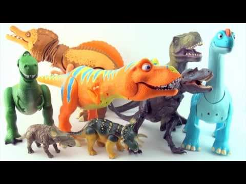 learn-to-count-dinosaurs---learn-counting-10-dinosaurs---dinosaur-train,-walking-with-dinosaurs