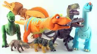 Learn to count dinosaurs - Learn Counting 10 Dinosaurs - Dinosaur Train, Walking with dinosaurs