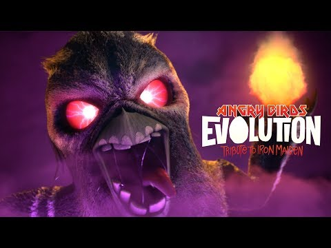 Angry Birds Evolution: A Tribute to Iron Maiden