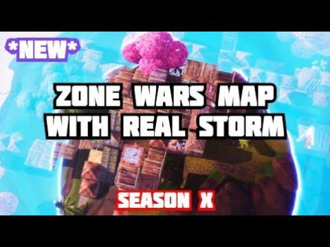 Fortnite Zone Wars Season 9 New Vortex Season X Zone Wars Map Circle Zones Multiple Phases Shifting Youtube