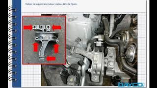 Montage kit de distribution VW Golf VII 1.4 TSI - FR