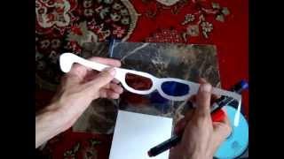 Как сделать 3D анаглифные очки(Обучающий видео курс по созданию эффектных 3D-изображений: http://www.youtube.com/watch?v=bBCLGJmPRT0 Моя партнерская програ..., 2013-07-10T10:22:20.000Z)