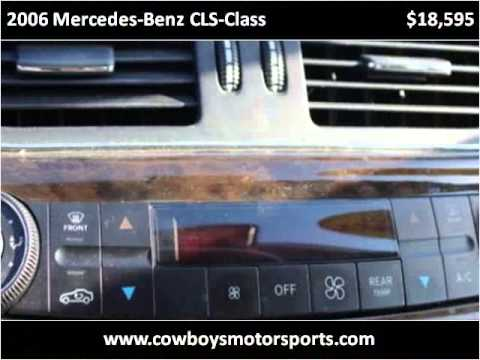 2006 Mercedes Benz CLS Class Used Cars Mobile AL