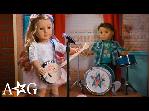 Tenney Grant's Stage And Dressing Room   Tenney Grant   American Girl