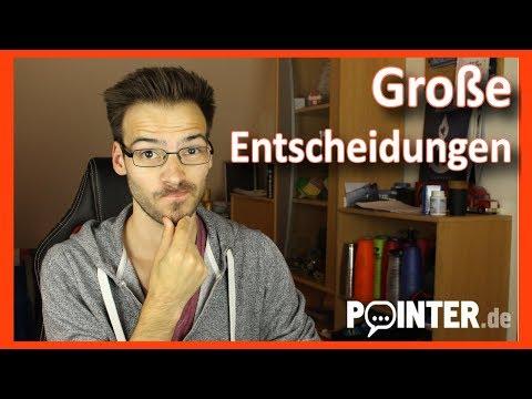 Patrick vloggt - Große Entscheidungen zum Studienende