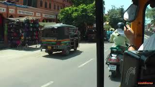 India,Tuk,Tuk ride in Jaipur - Trip to Nepal,Tibet,India part 36 - Travel video HD
