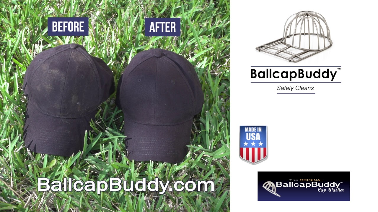 BallCap Buddy Hat Washer with Kevin Harrington from Shark Tank 46ebe23e24a