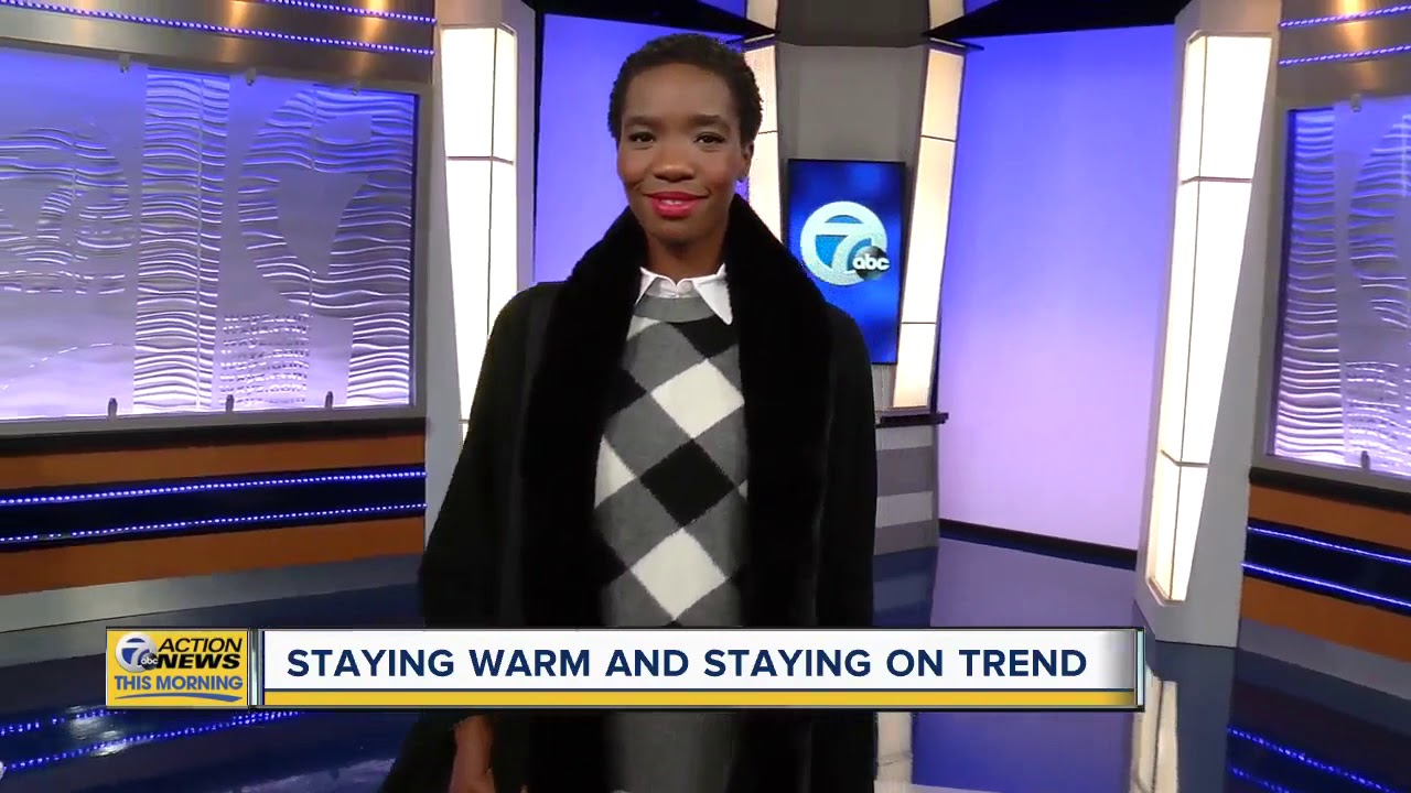 Staying warm and staying on trend