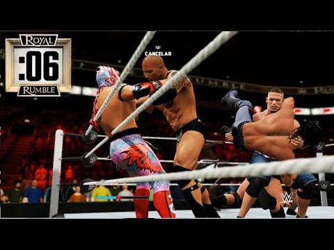 WWE 2K17 - ROYAL RUMBLE - 30 HOMBRES EN EL RING