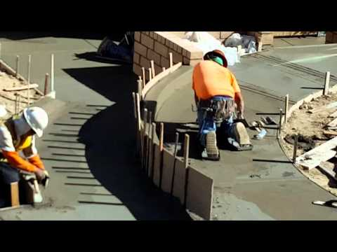 Concrete tricks and tips how to construction Mason work